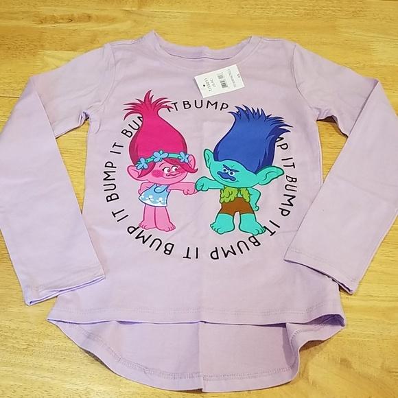 d4bbaf161 Trolls Shirts & Tops | New Girls Longsleeve Shirt Sz 6x | Poshmark